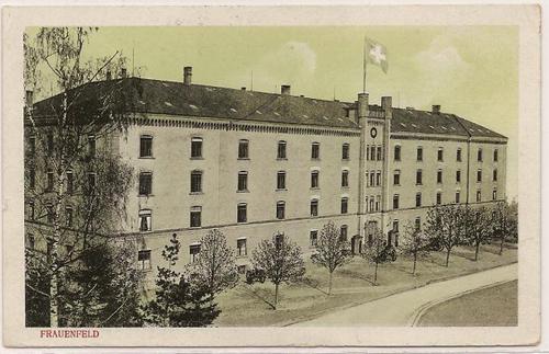 Frauenfeld_Kaserne_um_1920