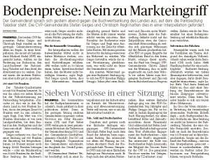 20.08.2015_TZ_Bodenpreise_Nein_zu_Markteingriff