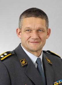 Divisionär (Div) Daniel Baumgartner